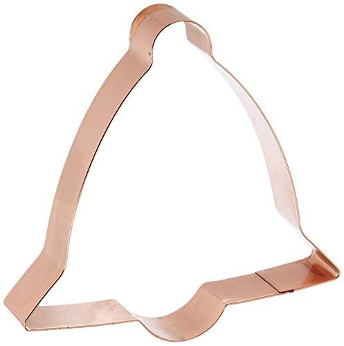 Fox Run Brands 2131 Copper Bell Cookie Cutter 5-Inch