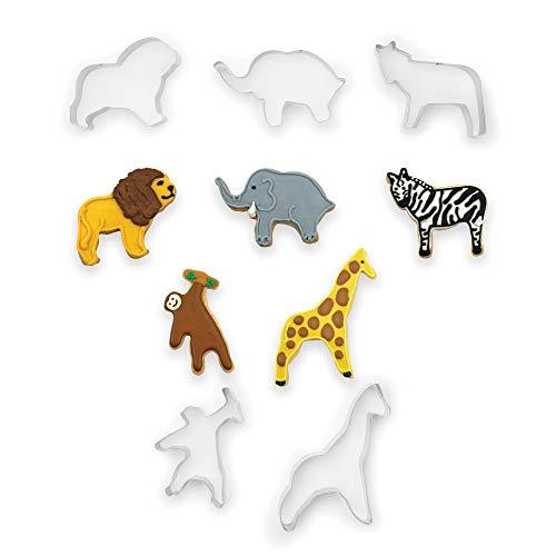 Fox Run 36008 Zoo Animals Cookie Cutter Set Zoo Animals