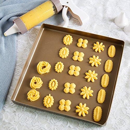 HX-CKLL Icing Gun SetDessert Decorator PlusDecorating Kit For CakesComfort Grip Stylish Cookie Press Kit Cake Cookies Making Decorating Gun for spritz butter cookies