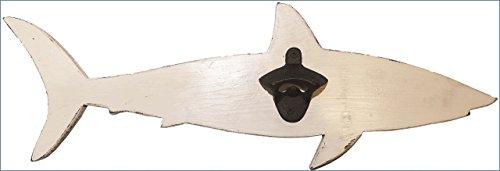 Handcrafted Solid Wood Shark Bottle Opener