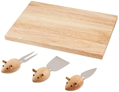 Kikkerland Mouse Cheeseboard Set