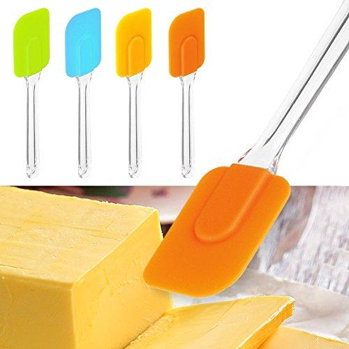DIY Silicone Mixing Kitchen Tool Baking Cake Cream Spatula Butter Scraper