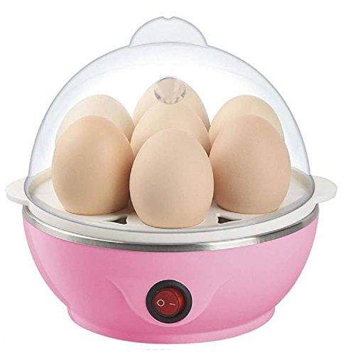 IN-INDIA Electric Egg -BoilerPoacher cum Food Steamer- Stylish Egg Boiler Cooker  Boils Potatoes Eggs and Many More EU PLUG
