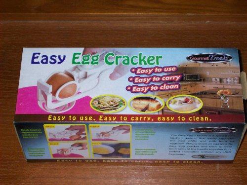 Gourmet Trends Easy Egg Cracker and Separator