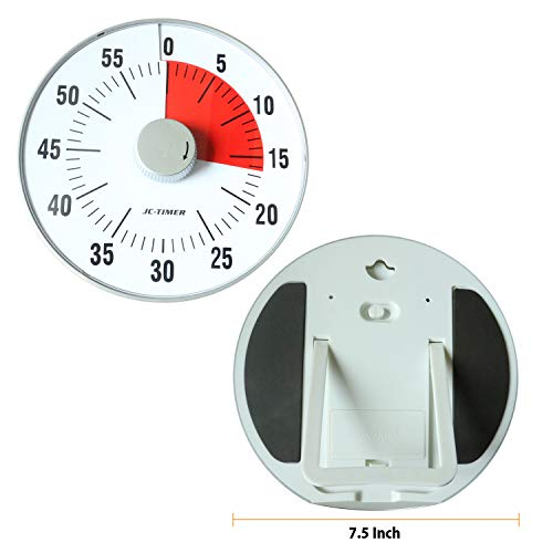 Classroom Timer Visual Timer Silent Time Timer No Alarm Magnetic Countdown Timer Classroom Large 75 Inch Required AA batteries