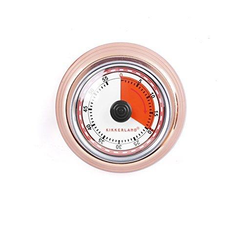 Kikkerland KT051-CO Magnetic Kitchen Timer Copper