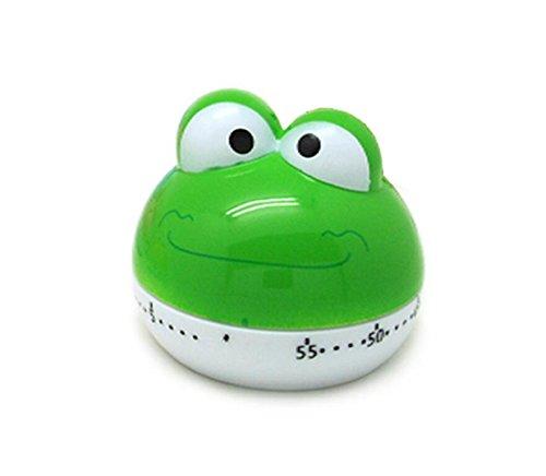 Anndeeson Cute Frog Shape 55 Mins Animal Kitchen Countdown Timer