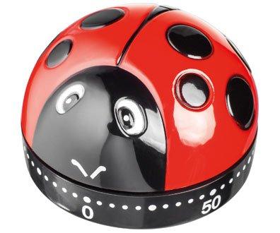 Judge Ladybird Ladybug Wind-up 60 Minutes Kitchen Timer TC301