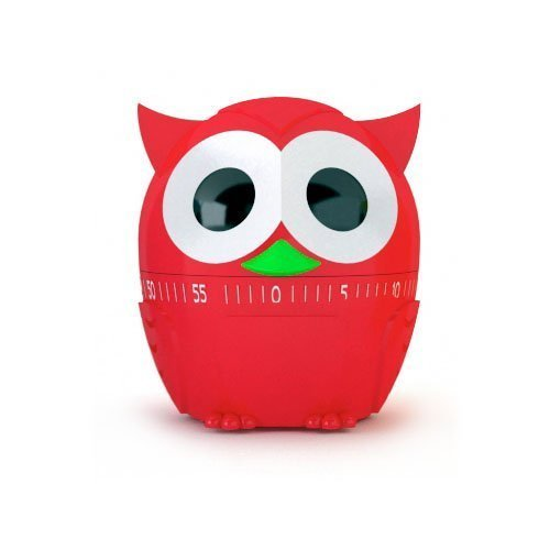 Owlet 60 Minute Kitchen Timer - Red