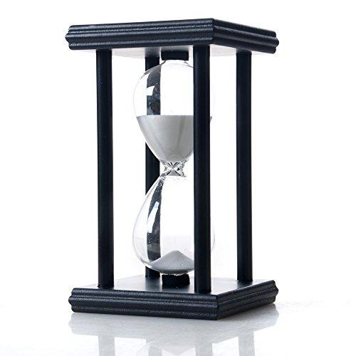 Bellaware Hourglass Sand Timer 30 Minutes Wood Sand Clock Timer