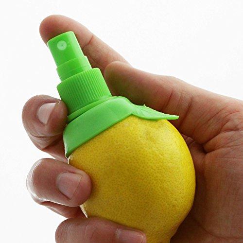 FINCOTM 2pcs Manual Sprayers Juice Lemon Citrus Juicer