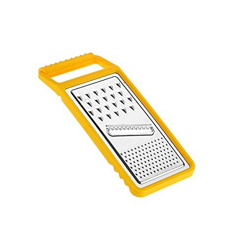 Yellow Multifunction Mandoline Slicer Grater Cutter