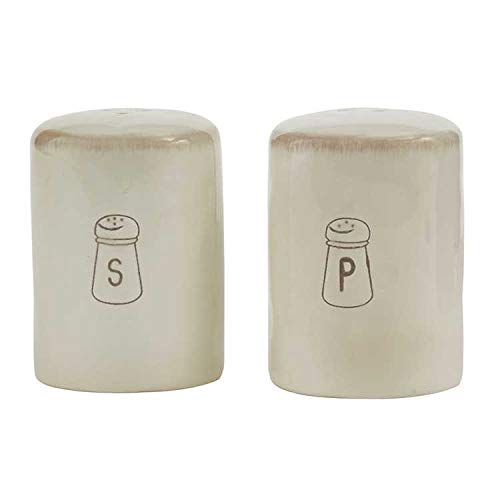 Park Designs Villager Salt Pepper Set - Cream