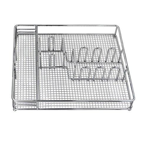Pfaltzgraff Everyday Metal Flatware Caddy 12-Inch-by-10-Inch