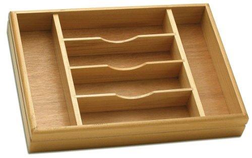 Oneida Wooden Flatware Cutlery Storage Caddy Quality Pine Construction 155 x 11