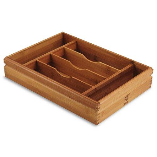 Zwilling JA Henckels Bamboo 6 Slot Flatware Tray 14 34 X 10 58 X 2 34 inch