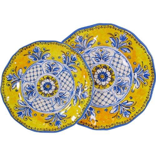 Benidorm - Le Cadeaux Melamine Dinnerware 16 Plates