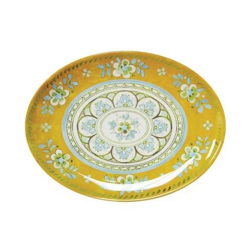Le Cadeaux Madrid Melamine Dinnerware 12 Inch Platter