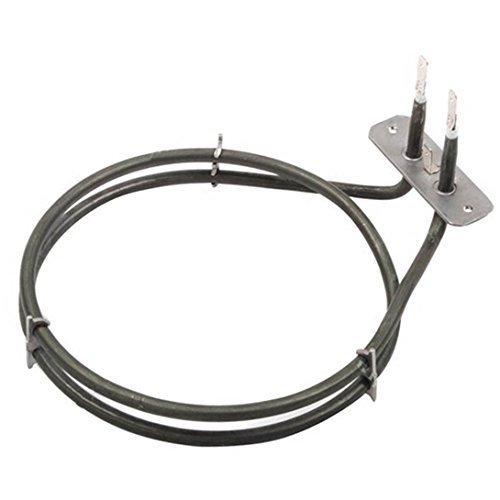 Beko BDV555AK BDV555AS BDV555AX BDVC100K 2 Turn Fan Oven Cooker Heater Element 1600W