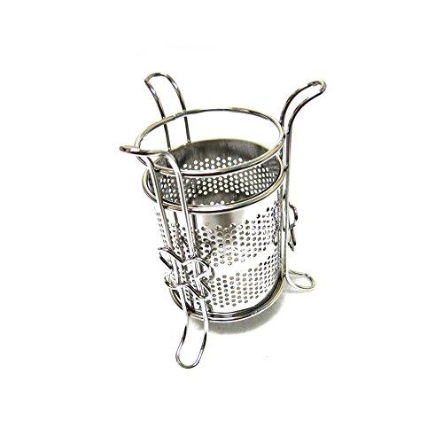 Sanitary Stainless Steel Cylinder Cutlery Holder Tea Spoon Storage
