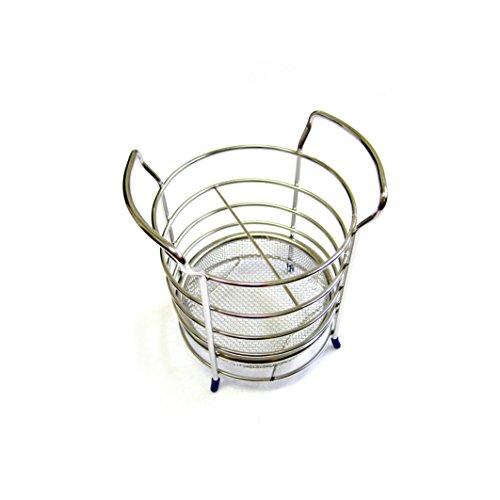 Stainless Silverware Storage Holder Cutlery Basket Cooking Utensil Flatware