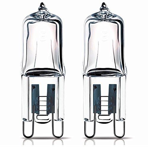 2 x 40w G9 Halogen Oven lamp Capsule for Hotpoint Oven 240v 300° Heat Tolerant 240v