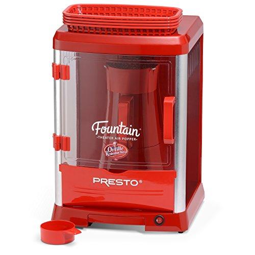 Presto 05314 Orville Redenbachers Fountain Theater Hot Air Popcorn Popper Red