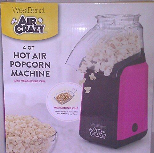 West Bend 82418PK Air Crazy Hot Air Popcorn Popper