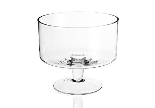 Badash - Lexington Mouth Blown Glass Trifle Bowl 9