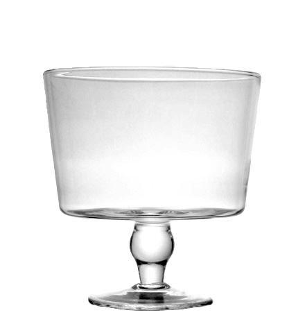 Tiara Lead Free Crystal Trifle Bowl 75 x 8 Inch