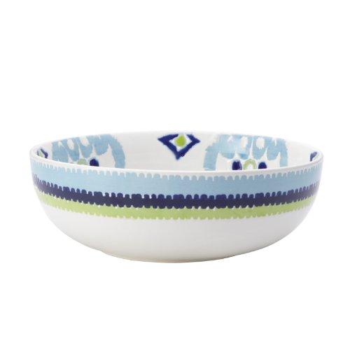 Rachael Ray Dinnerware Ikat 10-Inch Stoneware Serving Bowl Print