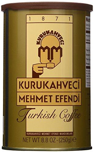 Mehmet Efendi Turkish Coffee 88OZ Pack of 3