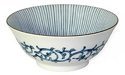 Japanese Sensuji Lines Noodle Bowl