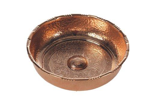 Carenesse Hammam Bowl Water Bowl  Tas  Copper Decorative Bowl Diameter 20 cm