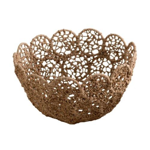 Shiraleah Noemi Macrame Oversize Decorative Bowl