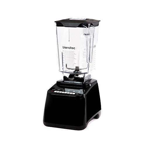 Blendtec Designer 650 Black Blender with Wildside Jar