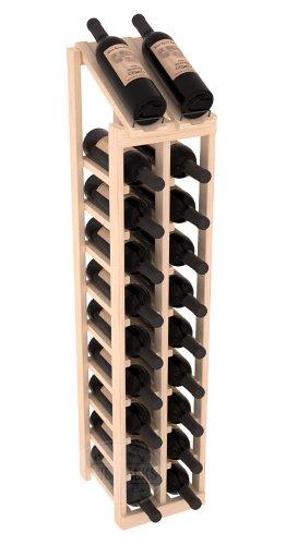 Wine Racks America Ponderosa Pine 2 Column 10 Row Display Top Kit 13 Stains to Choose From