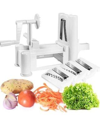 Kitchenero Top Quality Best Tri-blade Vegetable Slicer Spiralizer Superior stainless steel blades