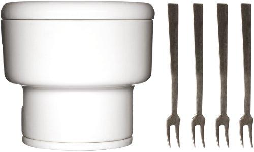 Sagaform 5010149 Stoneware Chocolate Fondue Set