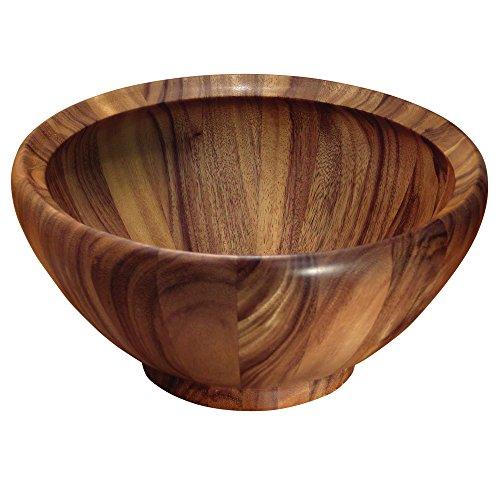 Ironwood Gourmet 28134 Extra Large Salad Bowl Acacia Wood