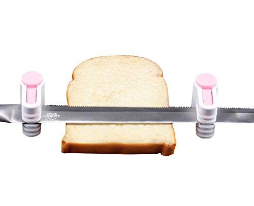 Bread Cutter Slicer Leveler holder KOOTIPS Premium Food Grade Cake Cutter  Slicer  Leveler Adjustable Dishwasher Safe Without Knife