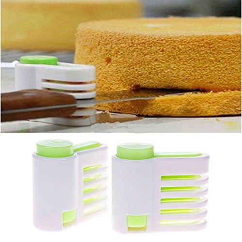 Layer Cake Slicer - Cake Leveler - 5 Layers Diy Cake Bread Cutter Leveler Slicer Cutting Fixator Kitchen Accessoires Tool - Cake Leveler Slicer
