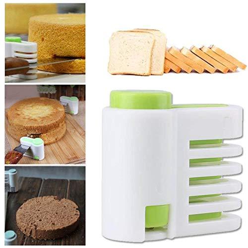 Fiesta 5-Layers Kitchen DIY Cake Bread Cutter Leveler Slicer Cutting Sheet FixatorKitchen Cake Decorating Tools Cake Slicer Layer