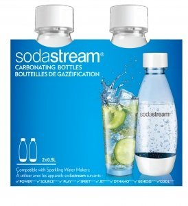 Sodastream Bottle original 2 pack 05 liter  169 oz launched in 2017