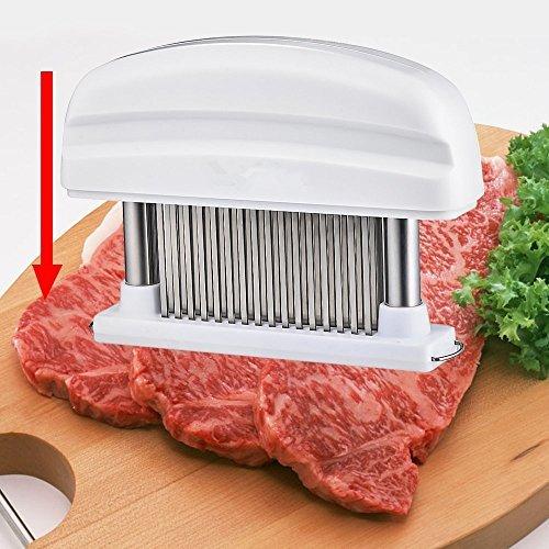 New Stainless Steel 48 Blade Meat Tenderizer Knives Kitchen Tool Steak Chicken