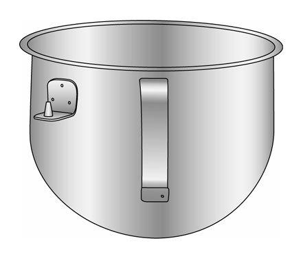 Alfa Intl KitchenAid Bowl 5 qt - KN25NSF