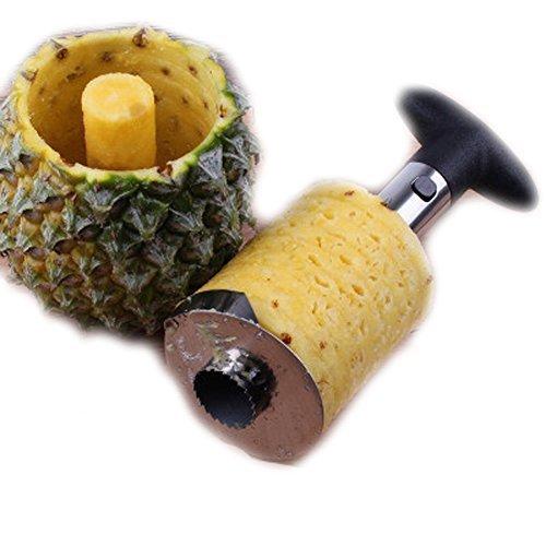 QIANDUOO Stainless Steel Fruit Pineapple Corer Slicers Peeler Parer Cutter Kitchen Tool