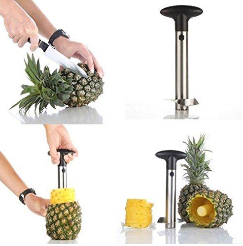 Stainless Steel Fruit Pineapple Corer Slicer Peeler