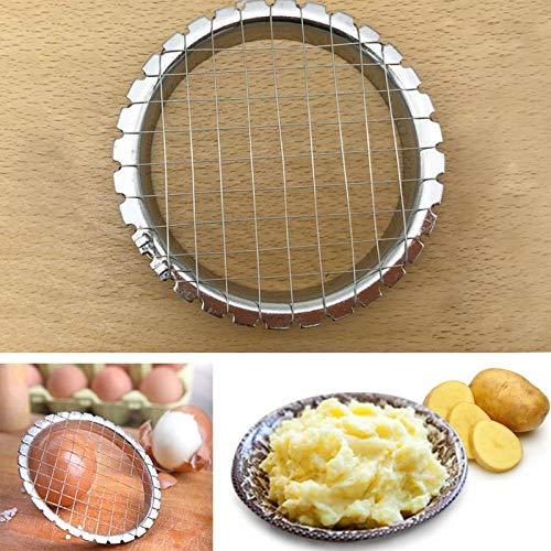 Bonlting Egg Slicer Cutter Cut Egg Device Grid for Vegetables Salads Tools for Kitchen
