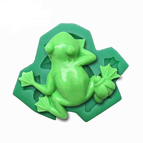 Pimtong Shop Frog Fondant Cake Mold Silicone Baking Tools Pudding Dessert molds for Cake Decorating Chocolates